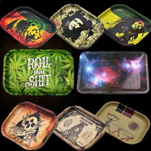 Load image into Gallery viewer, 200pcs Cigarette Paper Tobacco Smoking Rolling Paper Tinplate Cigarette Tray  Roller Paper Tool Pipe Grinder Tobacco Cigarette Holder Smoking Accessories