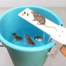Load image into Gallery viewer, DIY Home Garden Pest Controller Rat Trap Quick Kill Seesaw Mouse Catcher Bait Home Rat Traps Mouse Pest Mice Traps