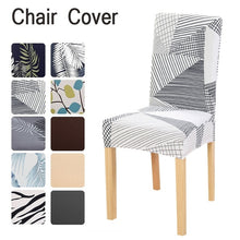 Load image into Gallery viewer, Chair Covers Spandex Dining Room Chair Protector Seat Cover  Slipcover Hotel Home Decor