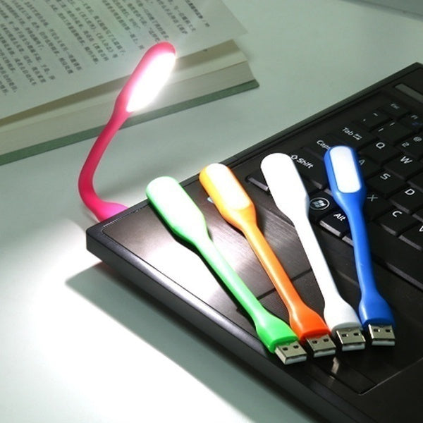 Mini Portable USB LED Lamp 5V 1.2W Super Bright Book Light Reading Lamp For Power Bank PC Laptop Notebook