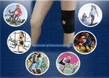 NEW Adjustable Knee Brace Amotus Soft Knee Strap Support Breathable Neoprene Open (black)