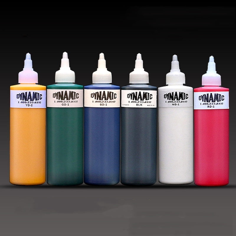 High Quality Dynamic color Tattoo Ink for body paint 8OZ Tattoo Pigment Original For Professional Artist