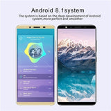 2019 New Android 8.1 Smartphone Two Types 5.8 inch / 5.0 inch MTK6592 Octa Core Dual Sim Cards 4GB Ram + 32GB Rom Bluetooth Wifi Camera GSM 3G WCDMA Mobile Phone