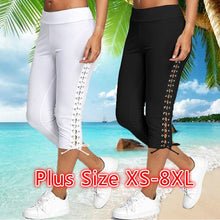Load image into Gallery viewer, Women's High Waist Skinny Pants Casual Pure Color Yoga Pants Sport Leggings Women Trousers Plus Size XS-8XL