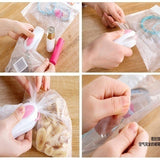 Plastic Packing Bag Heat Sealing Machine Sealer Tool Home Kitchen Seal Supplies Candy Color