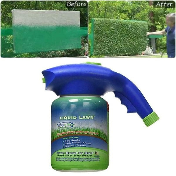 Household Liquid Lawn Hydroponic Seed System Seeding Sprayer  Garden Sprinkler Kettle