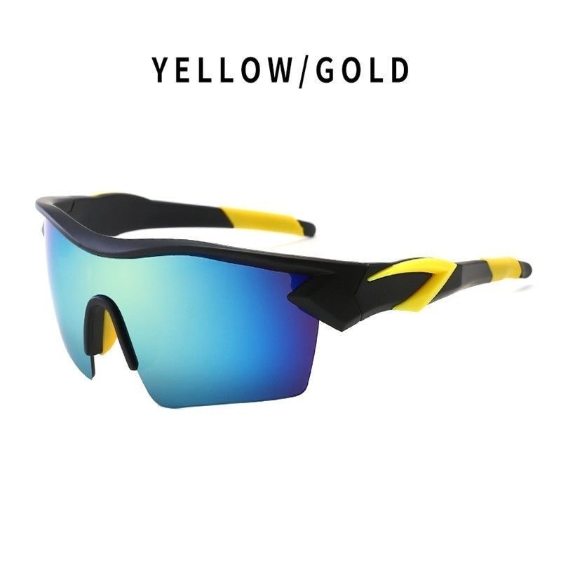 new colorful lenses outdoor sports riding glasses sunglasses windproof glasses bicycle motorcycle sunglasses sports glasses