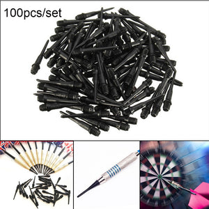 100Pcs 27mm 2BA Size High Quality Durable Professional Soft Tips Plastic Spots Needle Electronic Dart
