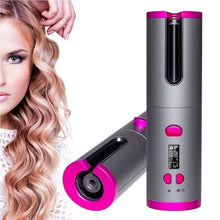 Load image into Gallery viewer, New Curling Iron Automatic Hair Curler Multi-Function Charging Hair Curlers Professional l Hair Styling Iron USB Wireless Hair Tong