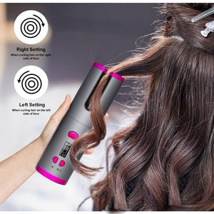 New Curling Iron Automatic Hair Curler Multi-Function Charging Hair Curlers Professional l Hair Styling Iron USB Wireless Hair Tong