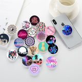 Fashion Cell Phone Stand Replace Cover Fasteners Decorative Accessories (40 Colors Included Phone Stand Base Gift)