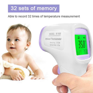 Non-Contact Infrared Thermometer,Thermometer for Fever, Baby and Adult Thermometer, Ear and Forehead Thermometer, 1`S meassurement