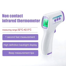 Load image into Gallery viewer, Non-Contact Infrared Thermometer,Thermometer for Fever, Baby and Adult Thermometer, Ear and Forehead Thermometer, 1`S meassurement