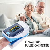 OLED Fingertip Pulse Oximeter Finger Blood Oxygen Saturation Level Monitor  Blood Pressure Oxygen Heart Rate Monitor