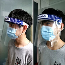 Load image into Gallery viewer, 5Pcs Clear Dust-proof Face Shield Splash-proof Adjustable Full Face mask Eyes Protective Tool Adult/kids