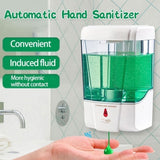Automatic Soap Dispenser Hand Sterilizer Infrared Motion Sensor Hand Disinfectant Shampoo Soap Alcohol Waterproof for Bathroom Kitchen Hotel Restaurant