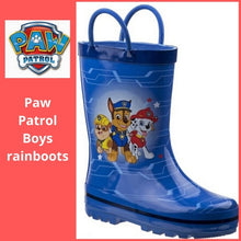 Load image into Gallery viewer, Paw Patrol Rain Boots