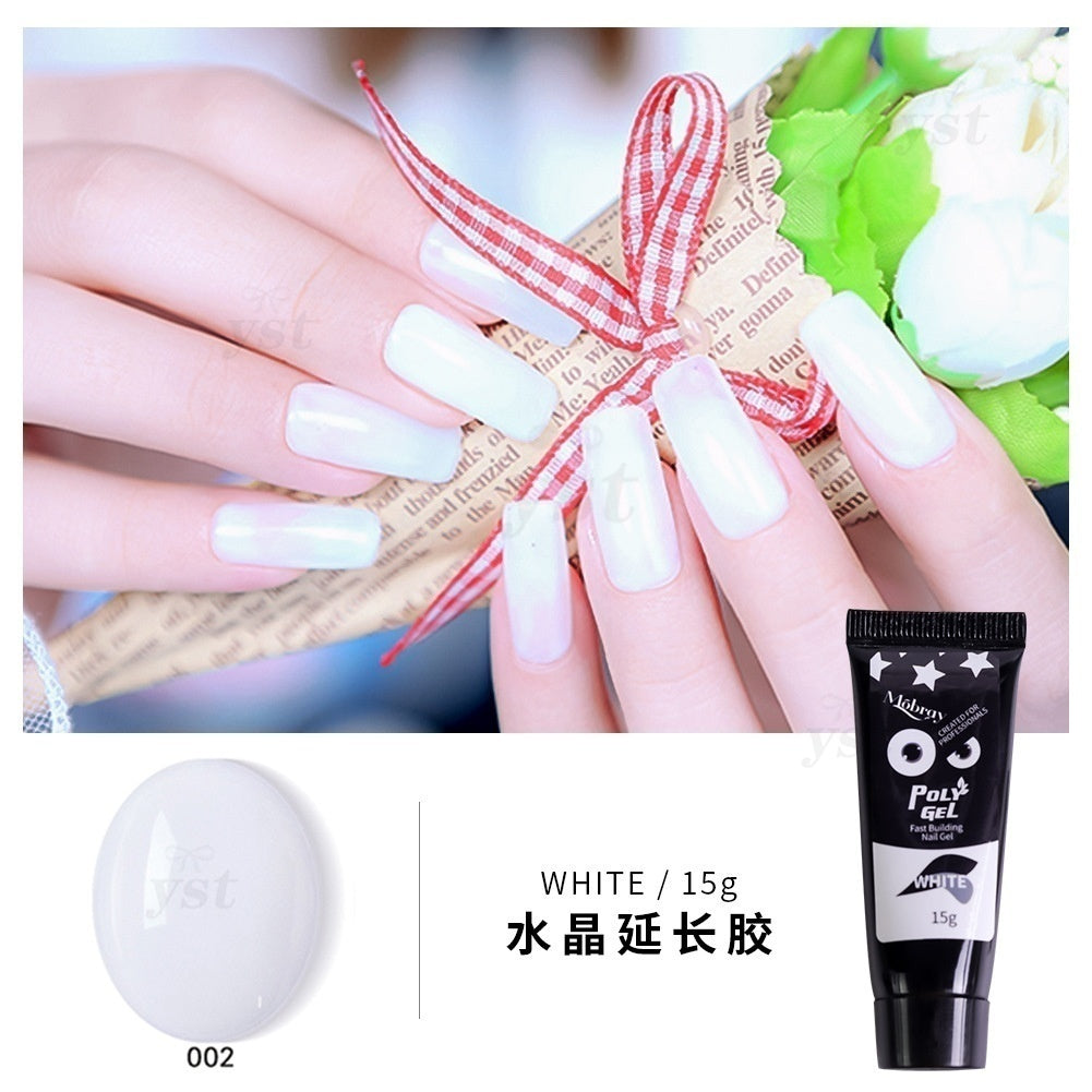 4Pcs/7Pcs/8Pcs/Set Nail Extension Gel Kit Quick Building Nail UV Gel French Nail Extended Tips