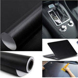 3D Car Carbon Fiber Car Film  Sheet Wrap Sheet Roll Film Waterproof DIY Car Stickers Vinyl Film for Car Decoration
