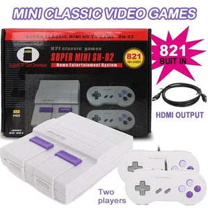Mini HD HDMI TV Video Game Console Handheld Retro Family Game Console Built-In 821/620 Classic Games