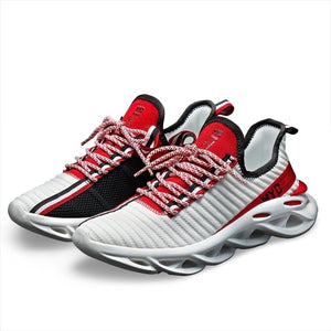 New Arrival Sports Shoes for Men/Women Big Size Fashion Twist Sneakers Youth Breathable Mesh Running Shoes Eur 36-48