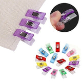 80/40/20 pcs Colorful Sewing Craft Quilt Binding Sewing Clips Plastic Clips Clamps Pack Trendy Gift