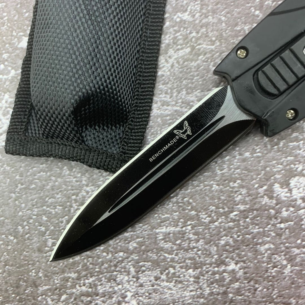 Tactical Knives AUTO EDC Spring Assist Knife Fixed Blades Double Edge Survival Knifes Camping Hunting Cutting Knifes Fast Opening