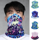 48 styles Women Men Hood Fashion Sun Protection Outdoor Sports Dust Proof Cycling Mask