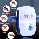 Home US Plug /EU Plug Multi-function Ultrasonic Electronic Indoor Anti Mosquito Rat Mice Insects Pest Mouse Control Repeller Pest Reject