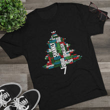 Load image into Gallery viewer, Christmas Tree Short Sleeved T-Shirt