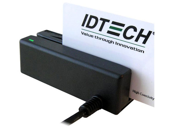 ID Tech  Mini Magnetic Stripe Reader Black