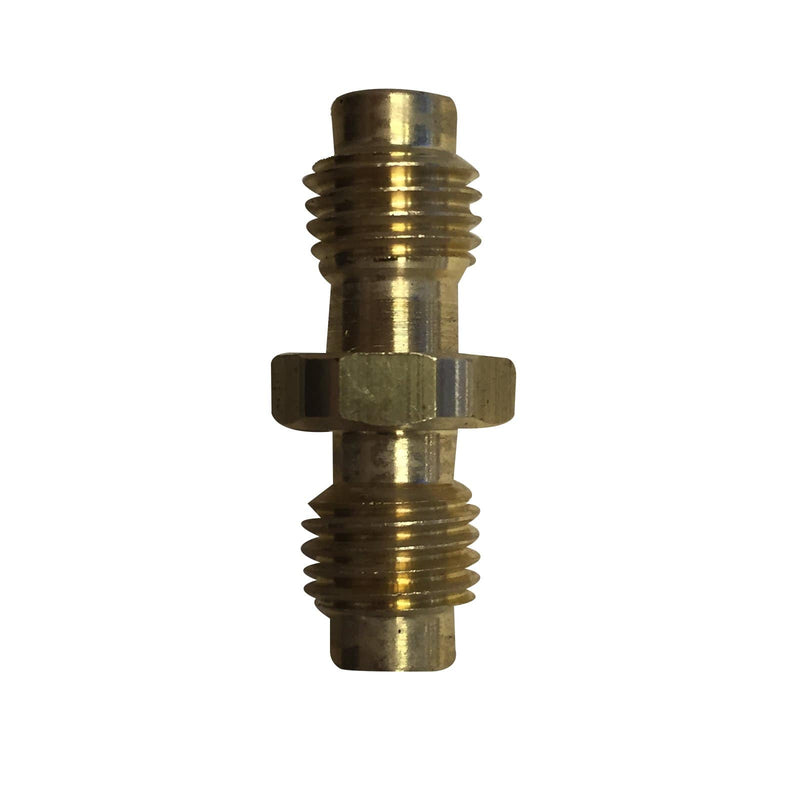 "Actecmax ACTECMAX 1/4"" X 1/4"" Brass Male Flare Adapter Hose Connector"