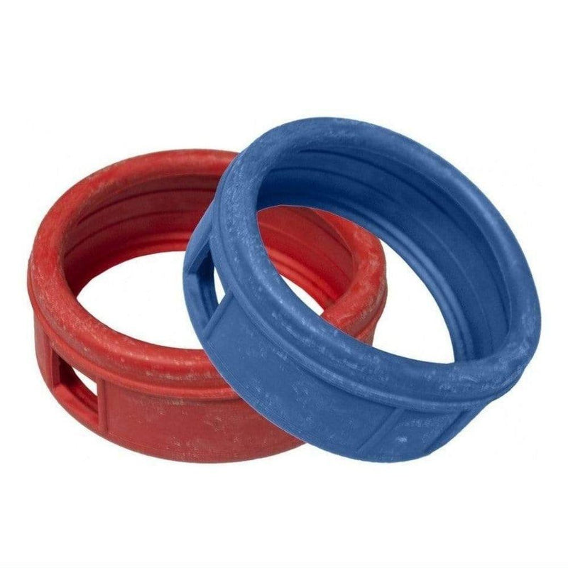 Actecmax Manifold Replacement Parts ACTECMAX Gauge Protectors Pair of Red & Blue 80mm