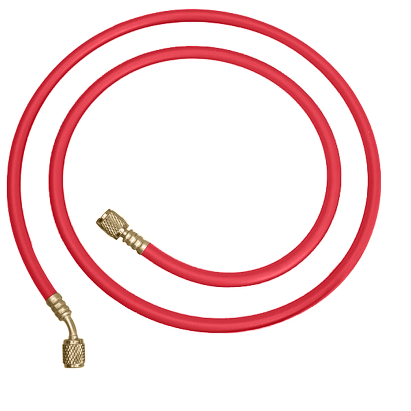 Red Refrigerant Refrigeration Air Conditioning Charging Hose 3000mm 3m