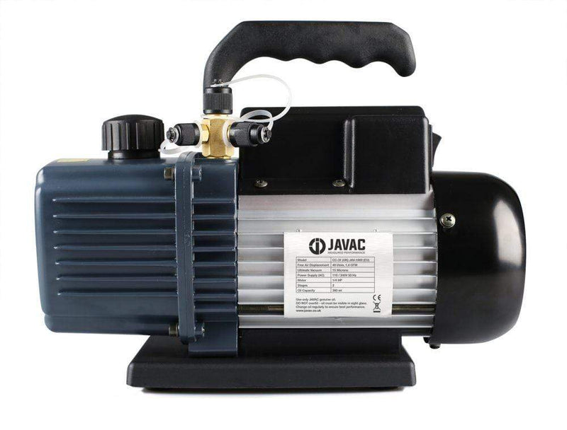 Javac Javac 1.4 Cfm 2 Two Stage Air Conditioning A/C Refrigeration Vacuum Pump CC31