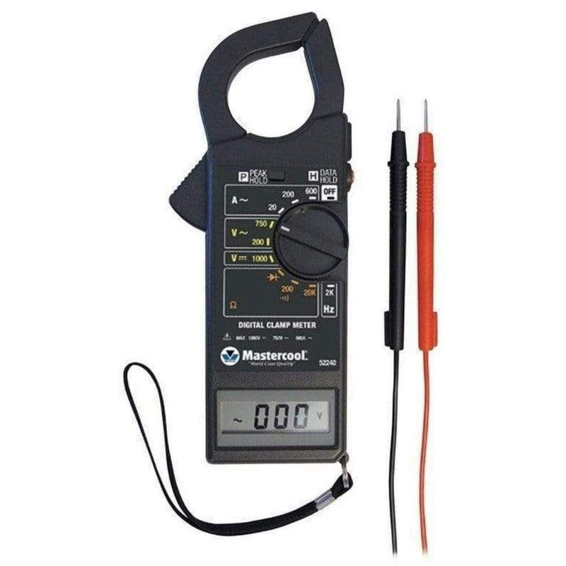 Mastercool Handheld Diagnostic Tools Mastercool Refrigeration HVAC A/C Professional Refrigeration Clamp Meter 52240