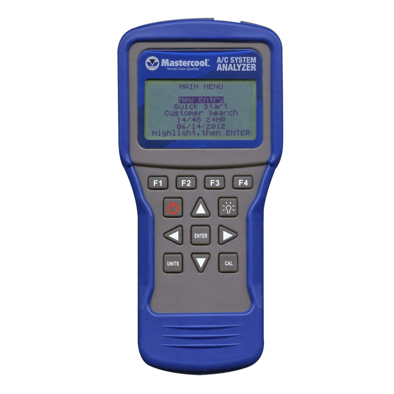 Mastercool Handheld Diagnostic Tools Mastercool Refrigeration HVAC A/C System Diagnostic Tool Analyser 52251