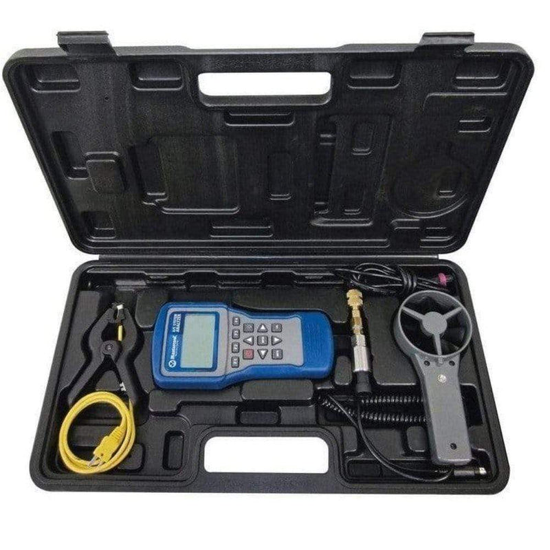 Mastercool Handheld Diagnostic Tools Mastercool Refrigeration HVAC System Analyser Clamp On Thermocoupler 52270