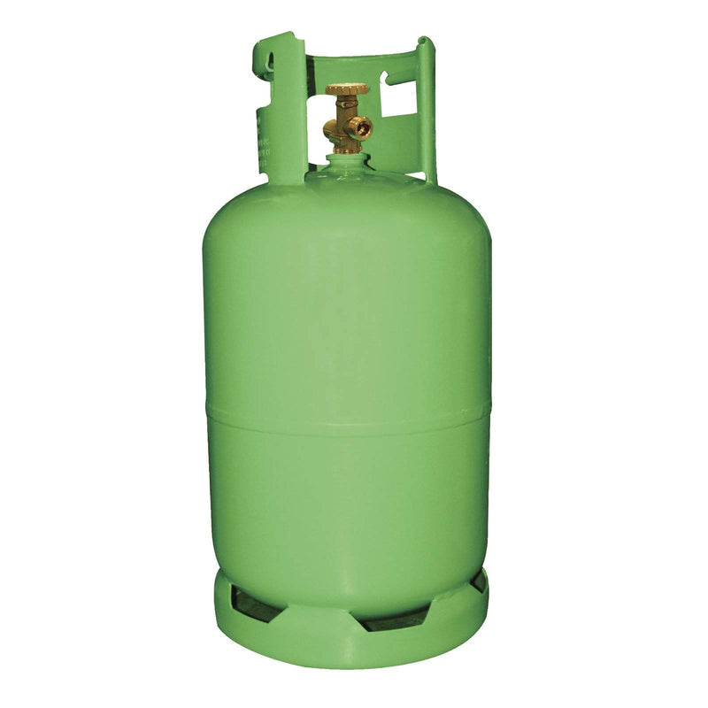 Mastercool Recovery Cylinders Mastercool 27L Refrigerant Refrigeration Recovery Reclaim Cylinder 63010-EUGRN