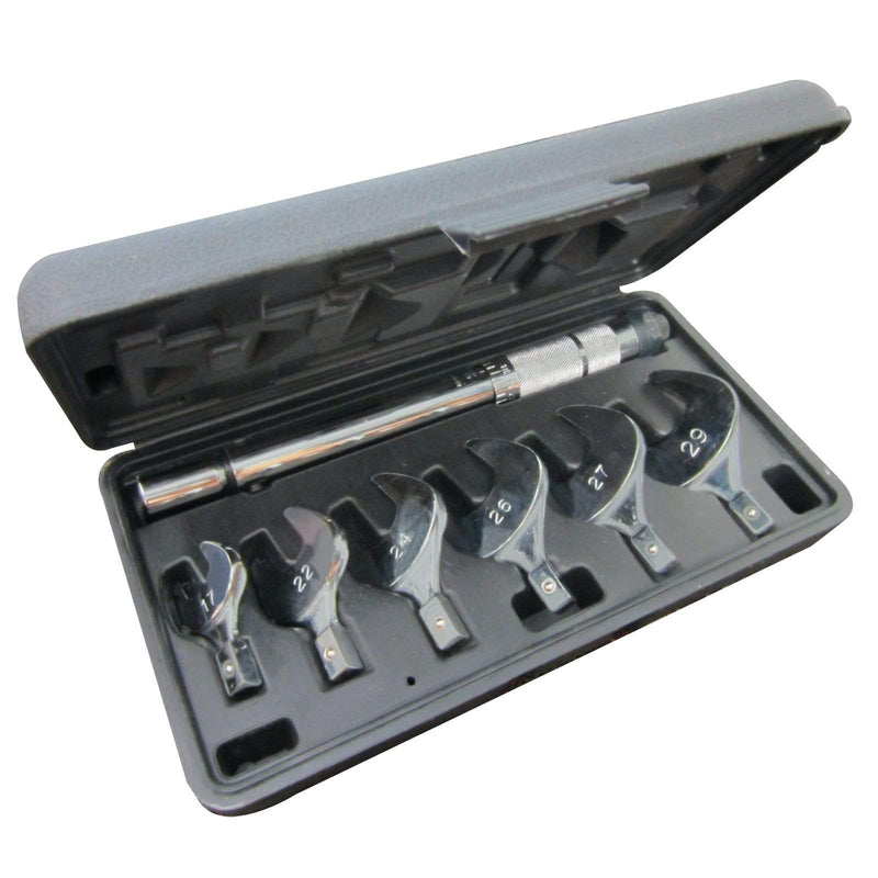 Mastercool Tubing Tools 70078 Mastercool Refrigeration HVAC Torque Wrench Tool Kit for R410A