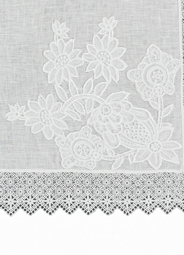 GUIPURE PLACEMATS SET