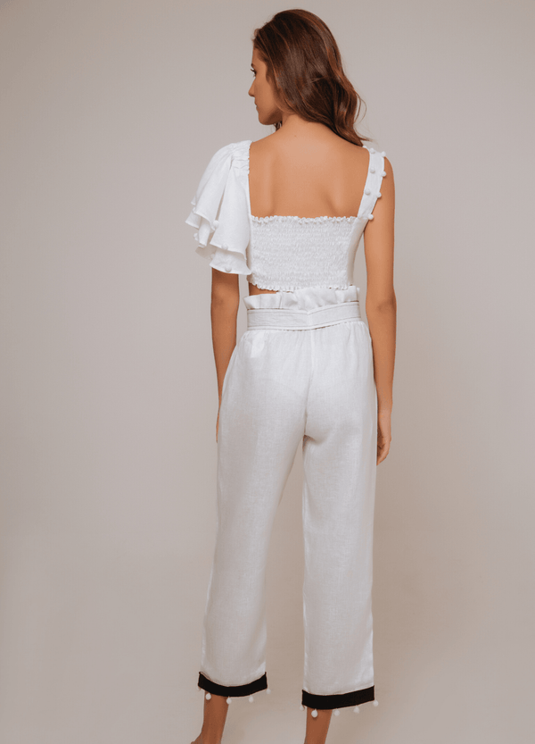 ALLORA PANTS WHITE