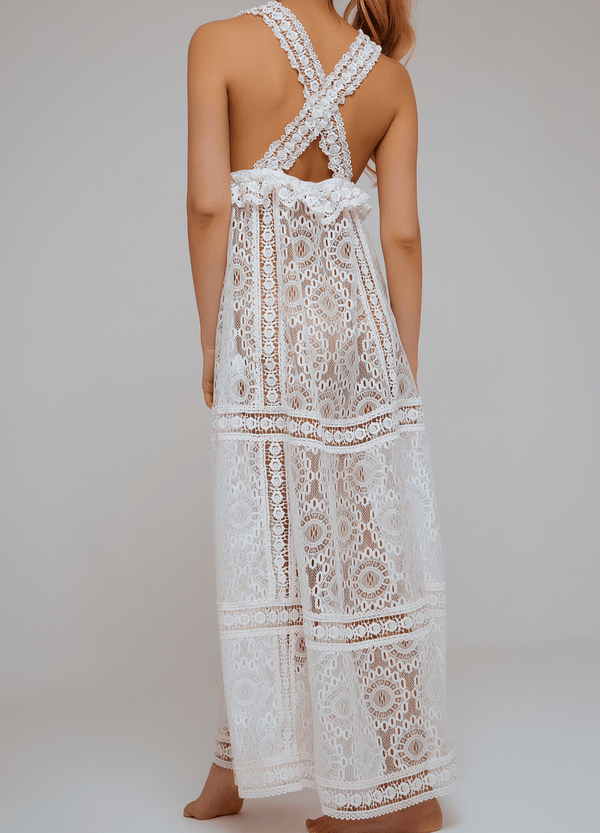 CHIC ESCAPE DRESS WHITE