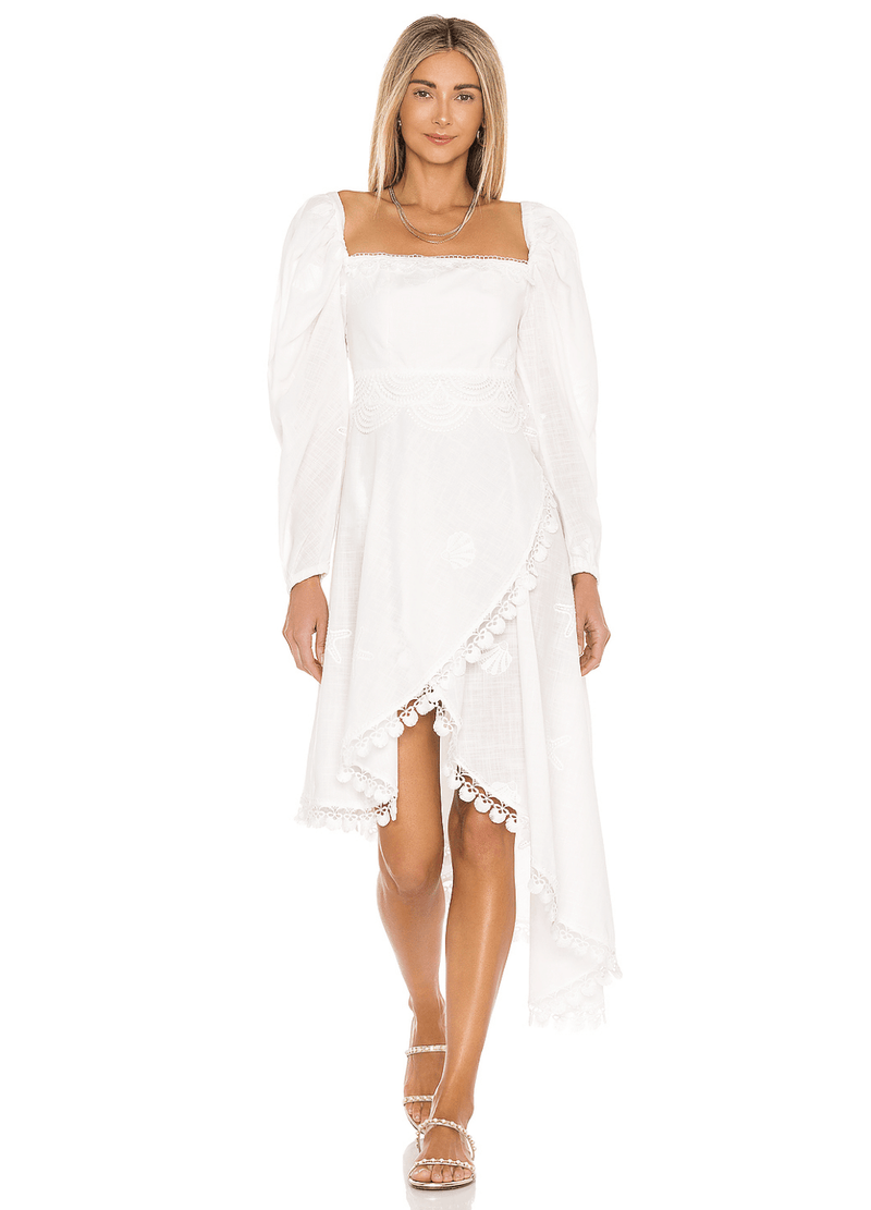 MEDUSA DRESS WHITE