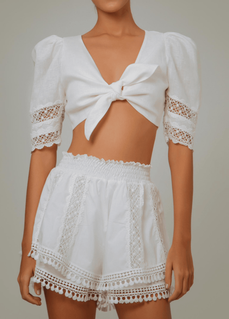 CHIRINGUITO TOP WHITE