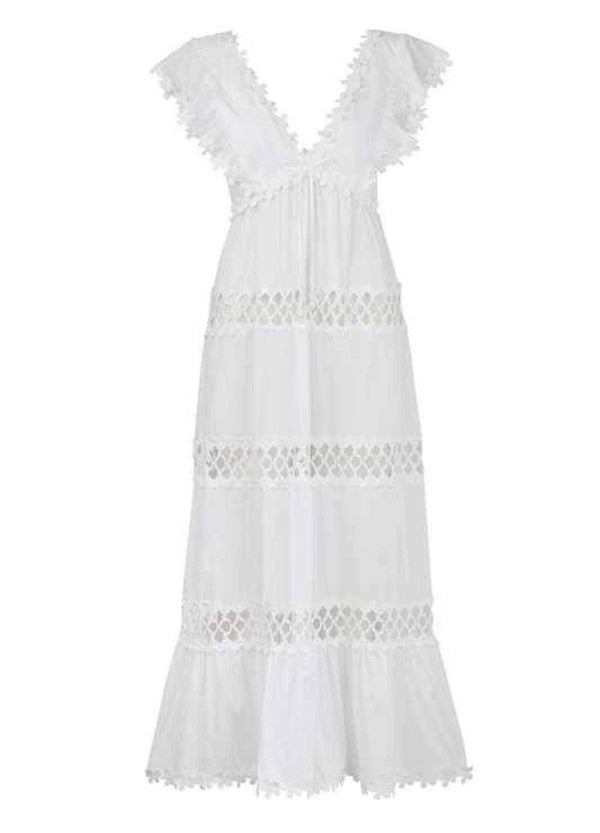 CATALINA DRESS WHITE