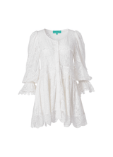 BIANCA MINI DRESS WHITE