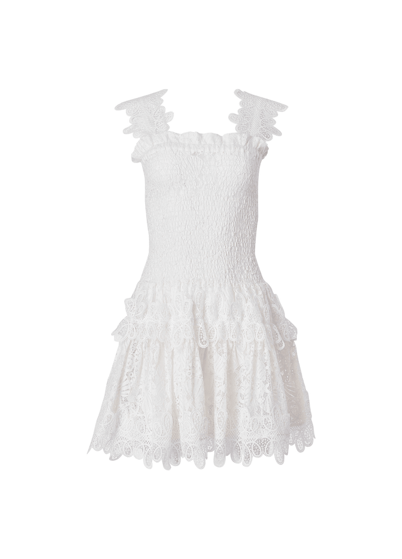 JOY MINI DRESS WHITE