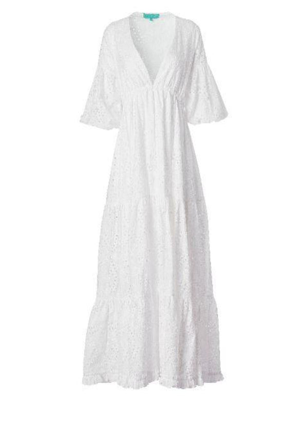 ROSARIO DRESS WHITE