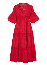 ROSARIO DRESS RUBY